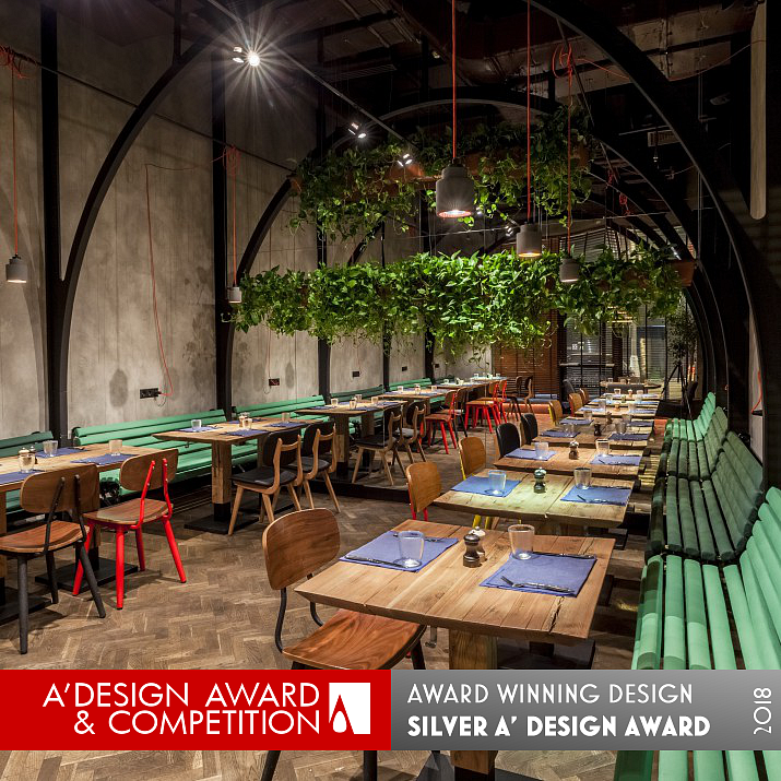 Серебряный призер конкурса A' Design Award & Competition 2017-2018